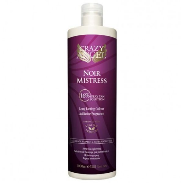 Crazy Angel Noir Mistress Extra Dark 16% Tanning Solution