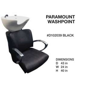 Paramount Washpoint Black