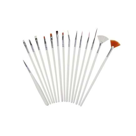 Master Artist Nail Art Brush Set 15pc