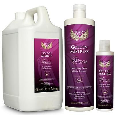 Crazy Angel Golden Mistress 6% Tanning Solutions