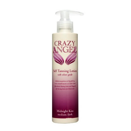 Crazy Angel Midnight Kiss Tanning Lotions
