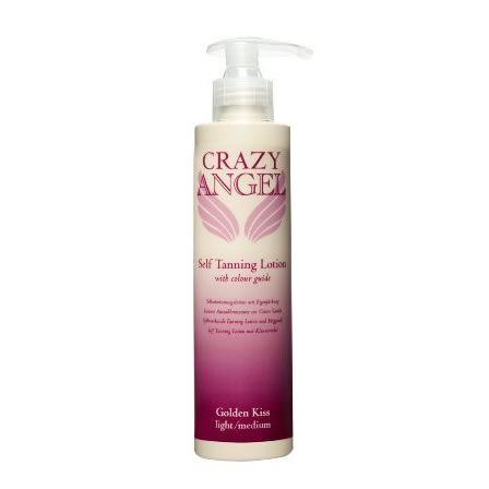 Crazy Angel Golden Kiss Tanning Lotion