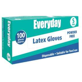 Everyday Vinyl Powder Free Small Gloves 100pk