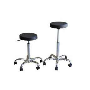Black Beauty Stool Chrome Base
