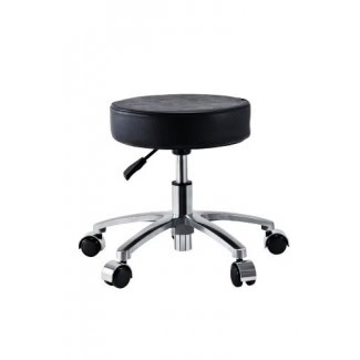 Beauty International Black Pedicure Spa Stool