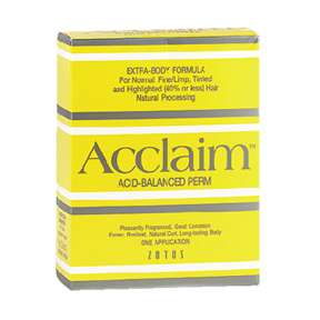 Acclaim Extra Body Perms (Mixed hair Types)