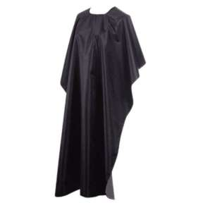 Hair Tools Satin Gown Black