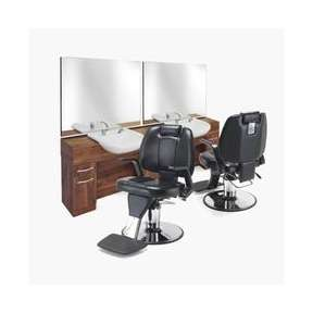Montana Barber Unit with Basin Plus Position