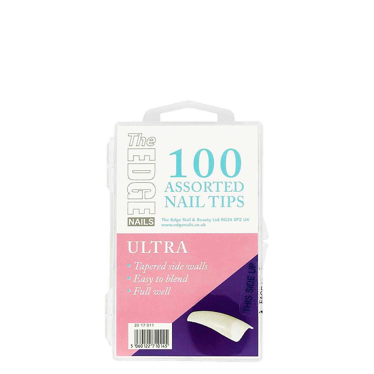 The Edge Nails Ultra Tips 100 Pack