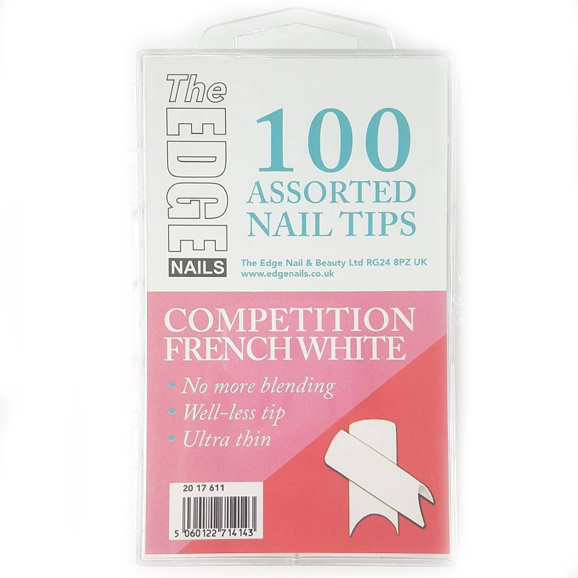 The Edge Competitive French Nail Tips 100 Pack