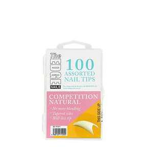 The Edge Nails Compeition Tips 100 Pack