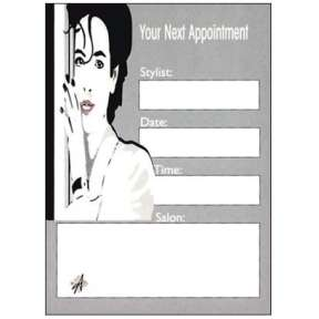 Salon Appointment Cards