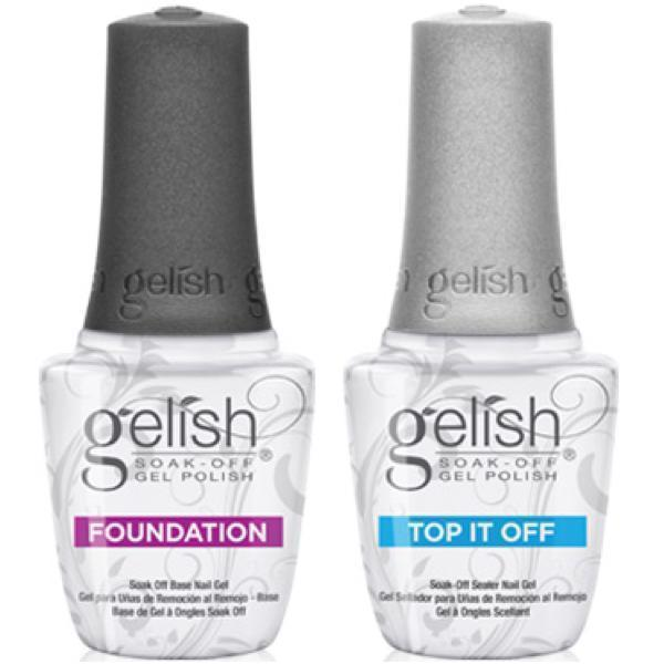 Gelish Top & Base Duo Pack