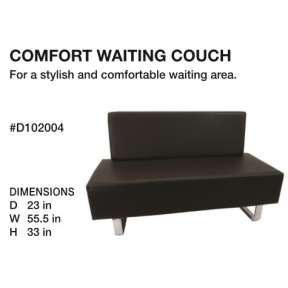 Beauty International Comfort Waiting Couch
