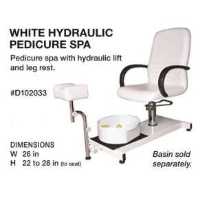Beauty International Hydraulic Pedicure Spa Chair