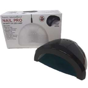 Beauty International Nail Pro 48 Watt Led Lamp Black