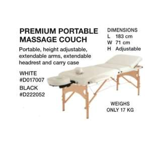 Beauty International Premium Portable Couch