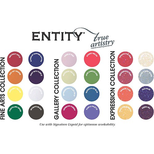 Entity Coloured Acrylic Nail Powders