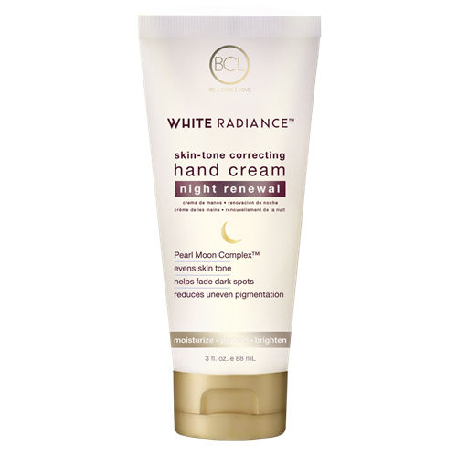 BCL Spa Organics White Radiance Hand Cream Night