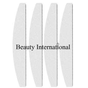 Beauty International Premium 100/180 Prepping Files Coffin Shape 10 Pack
