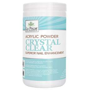 La Palm USA Clear Acrylic Nail Powder