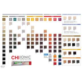 CHI Perm Shine Swatch Book
