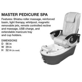 Beauty International The Master Pedicure Spa Grey