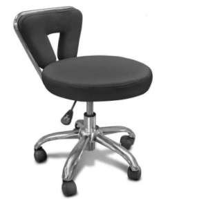The Master Premium Pedicure Spa Stool Black