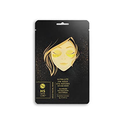 Happy Skin 24K Gold Hydrogel Eye Patches