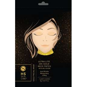 Happy Skin 24K Gold Hydrogel Neck Patch