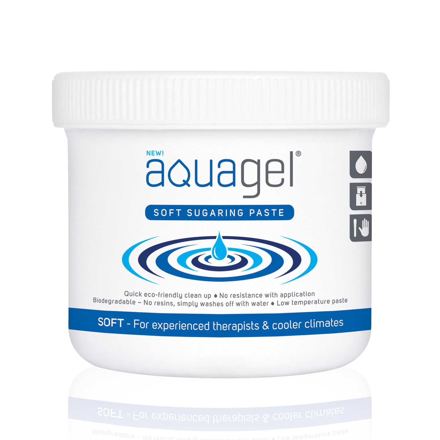 Aqua Gel Soft Sugar Wax 800grm