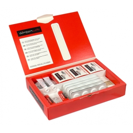 Wimpernvielle Power Pad 24 Treatment Lash Lifting Kit