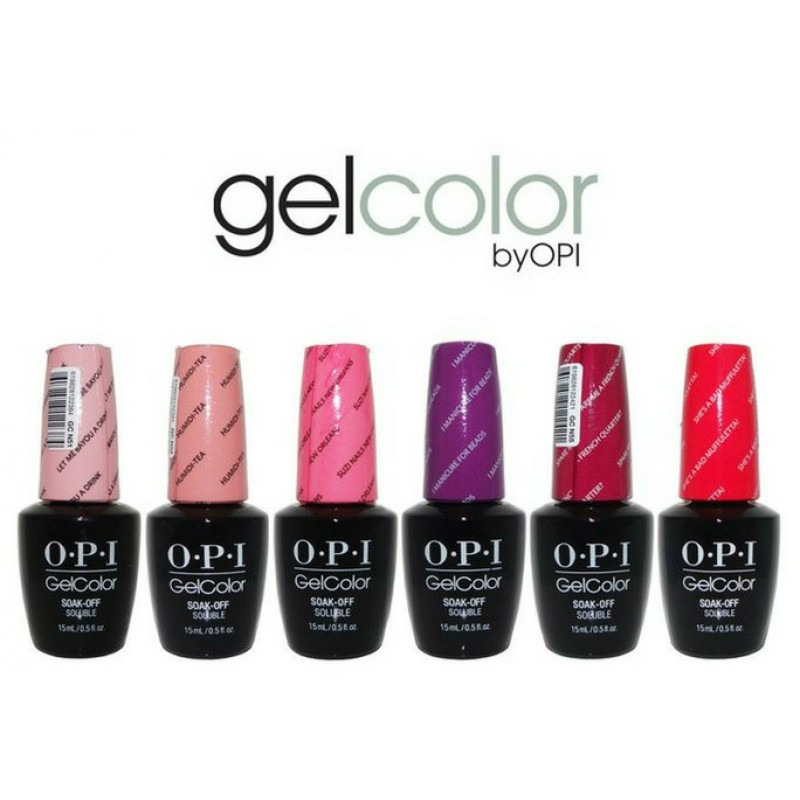 OPI Gel Color Gel Polishes